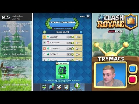 ERSTES TURNIER | BESTER MODE | HYPE IS REAL | CLASH ROYALE