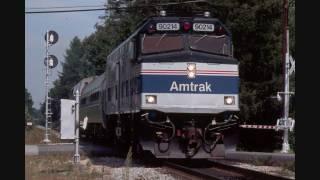 Amtrak Loco Slideshow with Blues soundtrack