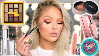 TESTING NEW MAKEUP   FULL FACE FIRST IMPRESSIONS