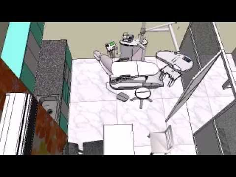 Dental Clinic In Sus Pashan Pune Proposed Interior Design By Designaddict Youtube