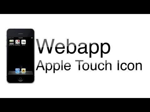 Webapp - Apple Touch Icon einbinden