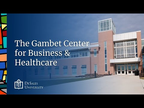 8. The Gambet Center for Business & Healthcare - DeSales University