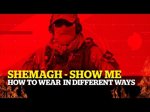 Shemagh ► Different ways to WEAR them.
