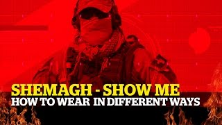 Shemagh ► Different wąys to WEAR them.