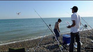 استخدام طائرة الفانتوم في صيد السمك using dji phantom for fishing