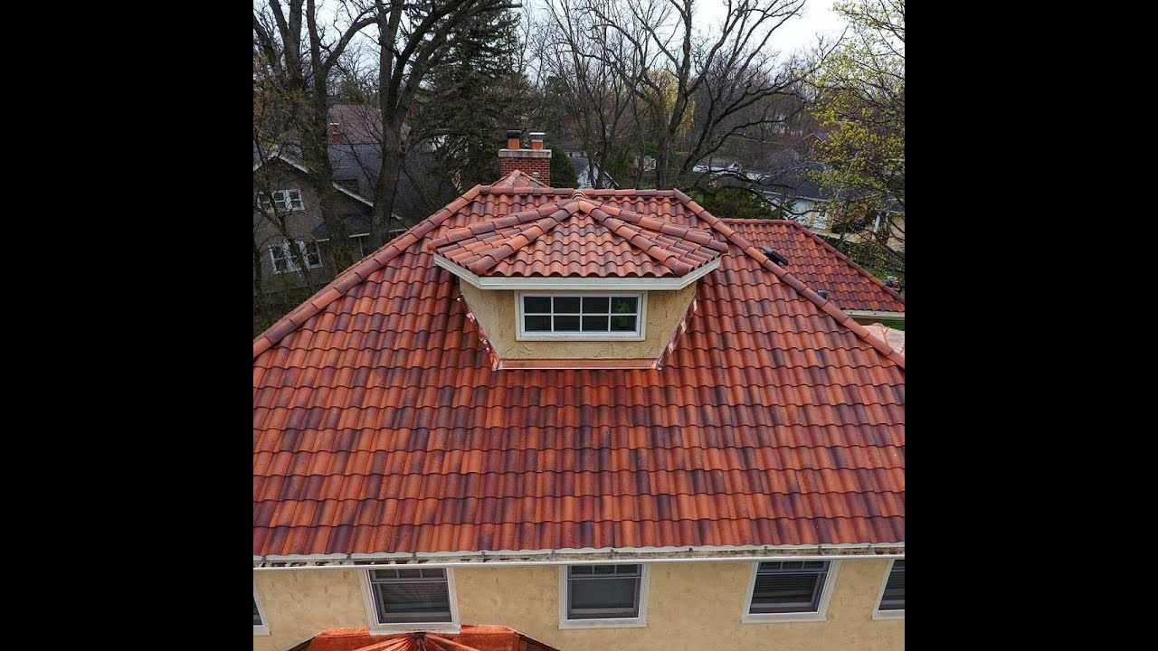 Spanish Tile By Cedar Roofing Company CRC 847 247 4400