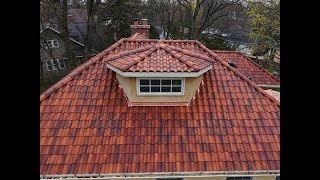 Spanish Tile by Cedar Roofing Company CRC 847-247-4400