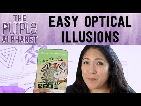 SIMPLE & EASY Optical Illusion ACTIVITIES