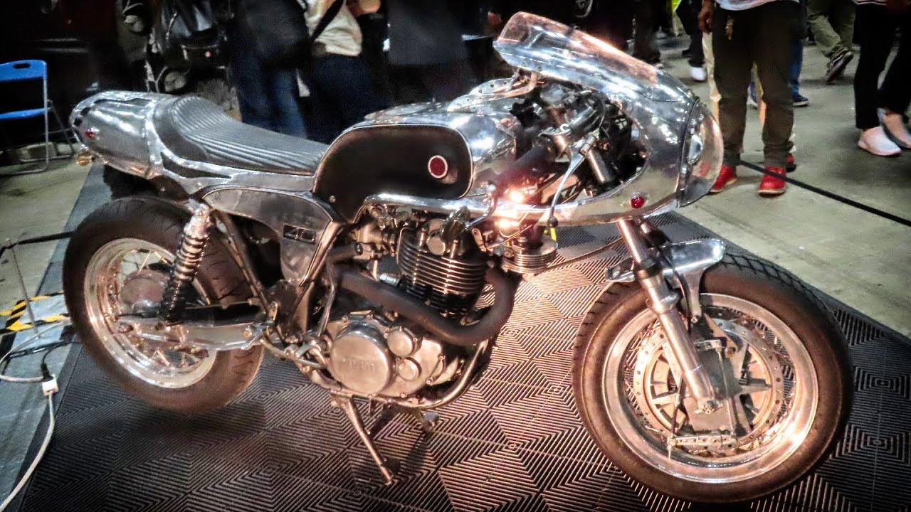 Yamaha SR400 RB » Motorcycles » OldtimeWallpapers.com