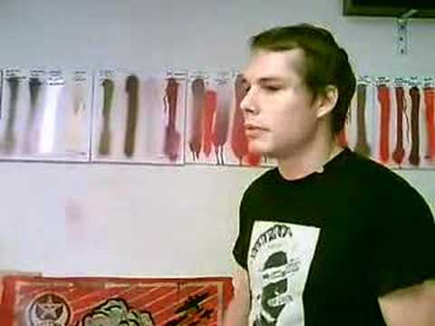 Shepard Fairey studio interview - Jonathan LeVine Gallery