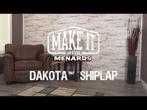 Dakota Shiplap - Make It With Menards - YouTube