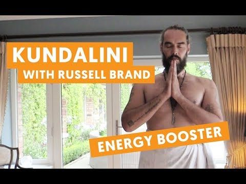 Kundalini Yoga with Russell Brand - ENERGY BOOSTER