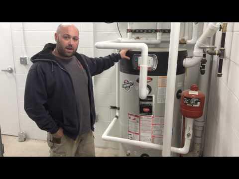 Commercial Hot Water Heater Installation Adesa Auto Auction - Elgin Illinois