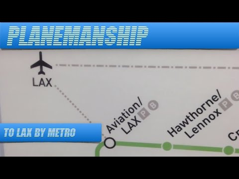 Hollywood to LAX Airport by Public Transport