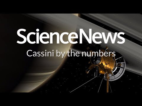 Highlights of Cassini's mission to Saturn, by the numbers | Science News
