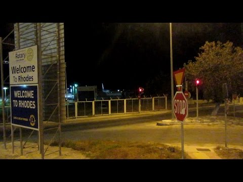 04: Rhodes Airport to the Kipriotis Hotel - 22nd October 2016, [21:38]