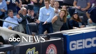 Yankees Fan Will Smith Drops Three Foul Balls