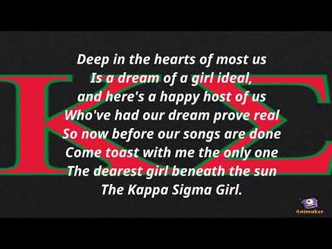 Kappa Sigma Sweetheart Song