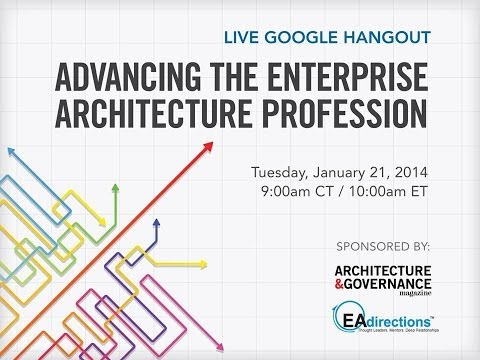 Advancing the Enterprise Architecture Profession