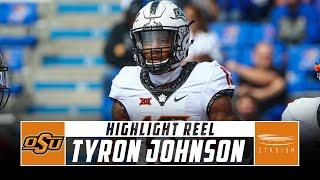 Tyron Johnson Oklahoma State Football Highlights - 2018 Season | Stadium