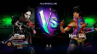 Top 8 Finals ▷ Combo Breaker 2018 - Killer Instinct - Nicky (Mira) vs Sonicdolphin117 (Kim Wu)