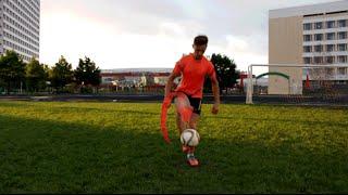 Футбольный фристайл. Видео урок по ATW / Football freestyle . Video lesson on ATW