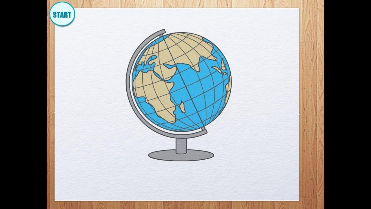 medium resolution of how to draw globe