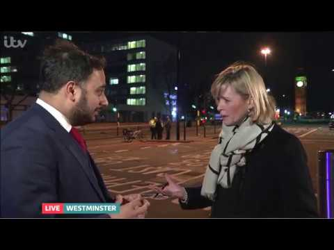 Witness to Parliament Attack - 22 March 2017 - ITV News