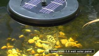 pond boss® Solar Floating Pond Aerator