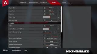 Best Settings For Apex Legends – Fix Lag, Increase FPS, Boost Performance (READ DESCRIPTION) *HD*