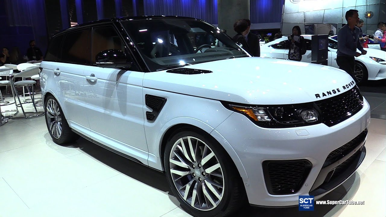 2016 Range Rover Sport SVR Exterior and Interior Walkaround