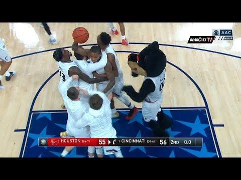 Men's Basketball Highlights: Cincinnati 56, Houston 55 (Courtesy CBS)