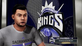 NBA 2k16 PS4 My Career - The Dream Ep. 13 | 1st NBA Game!