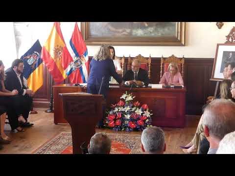 Constitución del Pleno de Santa Cruz de la Palma 2019 (Parte II).