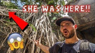 ANGELINA JOLIE'S TOMB RAIDER TEMPLE! - Ta Prohm, Angkor Wat, Siem Reap, Cambodia