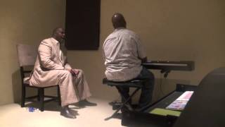 Pastor Marvin Winans and Mano Hanes