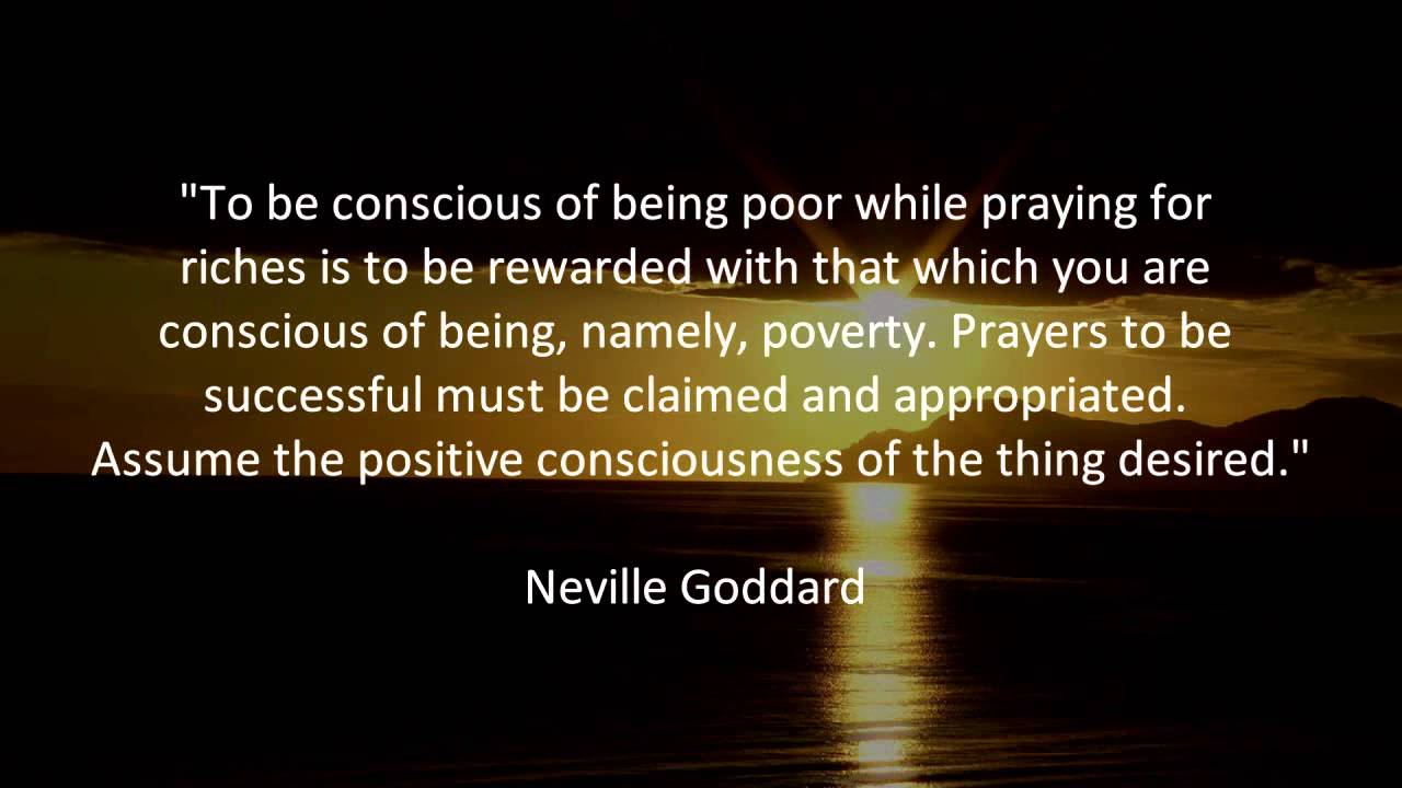 Conscious Quotes Powerful Neville Goddard Quotes  Youtube