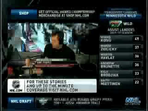 Ray Shero on NHL Live! 6-22-10 (Part 1)