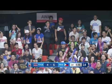 Philippines vs. Thailand  | May 26, 2016 | 5th SEABA Stankovic Cup 2016 THAILAND (TH)