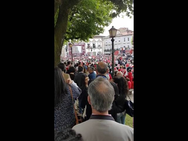 El Braga celebra, 50 años después, su segunda Copa de Portugal
