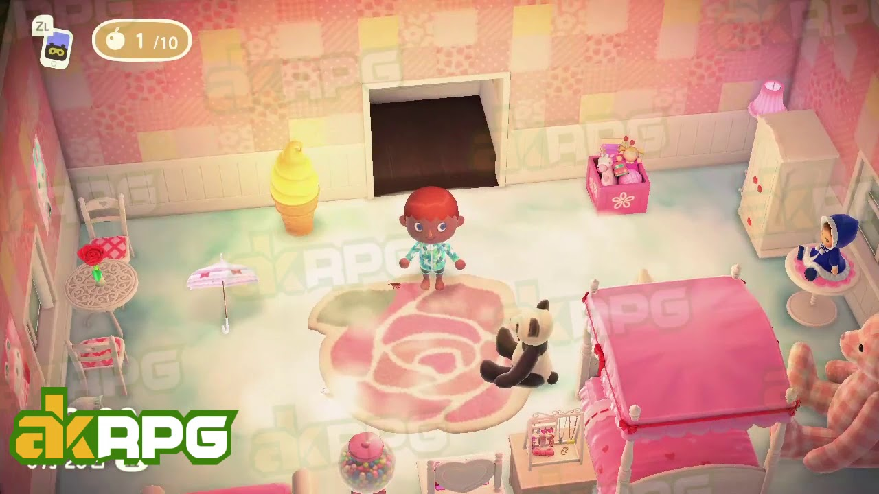 Lovely Bedroom With Cute Furniture Best Animal Crossing New Horizons Design Ideas