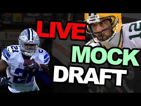 LIVE: 2019 Fantasy Football Mock Draft with Subscribers!