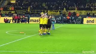 BVB Dortmund - Borussia Mönchengladbach 2:1 Highlights Südtribüne