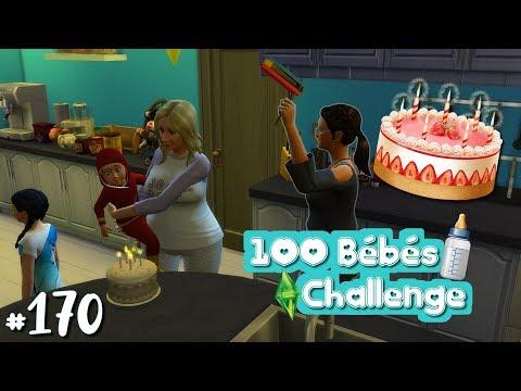 👶 100 Bébés Challenge - #170 | Caleb grandit ! - Les Sims 4 Heure de Gloire