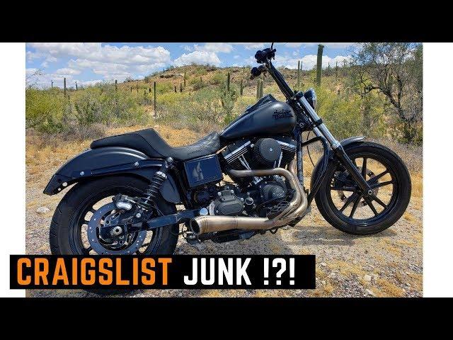 Craigslist Junk? Buying Used Harley Davidson Street Bob on