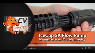icecap 3k flow pump maintenance troubleshooting