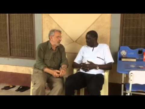 Alfred Taban interview for Africa Express by Massimo Alberi