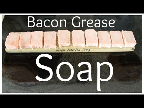 How to Make Soap From Bacon Grease