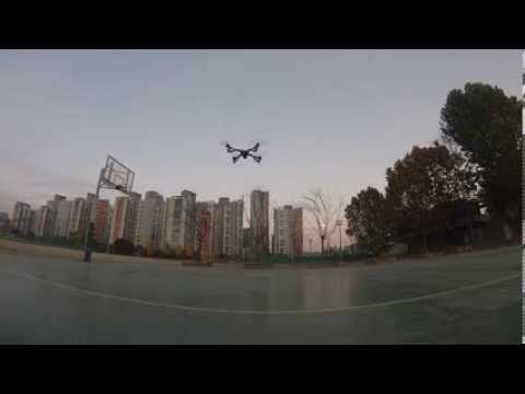 MultiWii X-QUAD COPTER