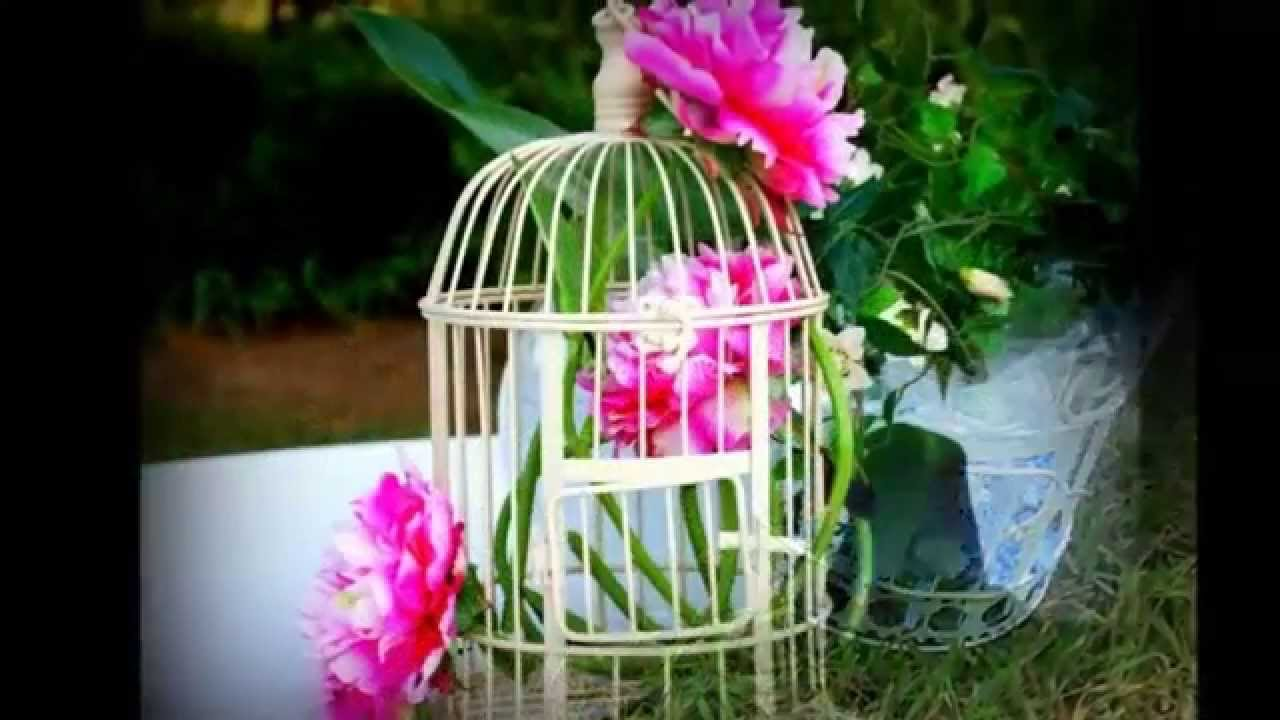 Jaulas Para Decoracion Baratas ~ ideas para decorar con Jaulas  YouTube